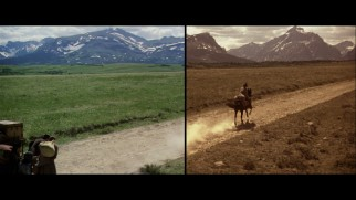 "A Restoration Demonstration illustrates the drastic color correction Criterion performed on ""Heaven's Gate"" under Michael Cimino supervision."