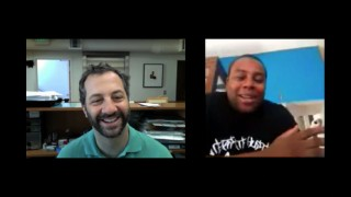 Judd Apatow conducts a video chat with the film's most famous young actor: longtime SNL player Kenan Thompson.