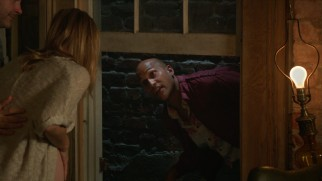 Neighbor F'resnel (Keegan-Michael Key) uses the Watsons' window to come and go as he pleases.