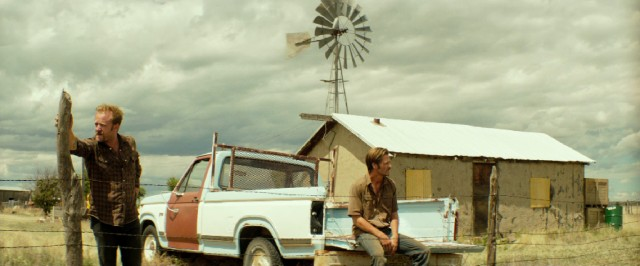 "Two brothers (Ben Foster and Chris Pine) do what they can to save the family farm in ""Hell or High Water."""