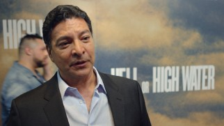 Gil Birmingham is among those in attendance for the film's red carpet premiere at the Alamo Drafthouse in Austin, Texas.