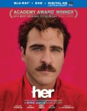 Her: Blu-ray + DVD + Digital HD UltraViolet combo pack cover art - click to buy from Amazon.com