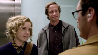 Not all of Theodore's friends are computers. Amy (Amy Adams) and Charles (Matt Letscher) are two of his closest flesh and blood confidantes.
