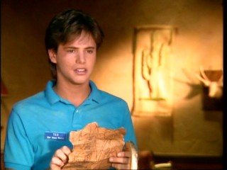 Ted (David Lascher) makes a golden breakthrough in his treasure hunt.