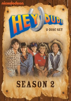 Hey Dude: Season 2 DVD cover art -- click to buy from Amazon.com