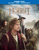 The Hobbit: An Unexpected Journey: Blu-ray + DVD + UltraViolet combo pack cover art -- click to buy from Amazon.com