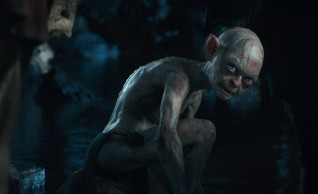 The ring-obsessed Gollum is once again the result of digital animation based on Andy Serkis' performance capture.
