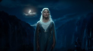 Cate Blanchett returns as the elf queen Galadriel.