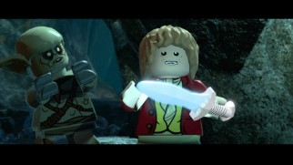 "The set's only trailers advertise either ""Hobbit"" or its direct tie-ins, like this LEGO: The Hobbit video game."