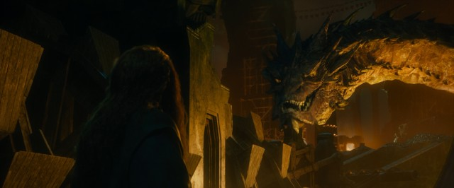 "The dragon Smaug is awakened and, naturally, desolated in ""The Hobbit: The Desolation of Smaug."""