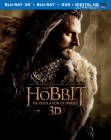 The Hobbit: The Desolation of Smaug: Blu-ray 3D + Blu-ray + DVD + Digital HD UltraViolet combo pack cover art -- click to read the press release
