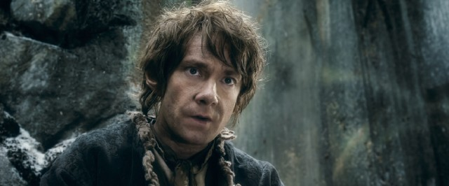 Spoiler alert: Bilbo Baggins (Martin Freeman) survives his journey and writes about it.