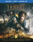 The Hobbit: The Battle of the Five Armies Blu-ray + DVD + Digital HD combo pack cover art -- click for larger view