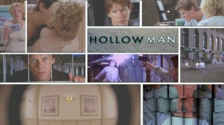 Hollow Man's Blu-ray menu displays clips and frames from the film.