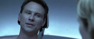 As the second Hollow Man, Christian Slater gets little more than a cameo.