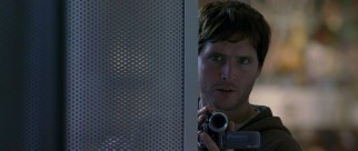 Even detectives like Peter Facinelli think it's fun to shoot movies in night vision.