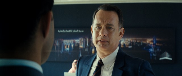 It's not the King, but Alan Clay (Tom Hanks) is relieved to finally meet his immediate contact on the project.