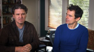 "Author Dave Eggers and director-screenwriter Tom Tykwer discuss ""The Adaptation of 'A Hologram for the King'."""
