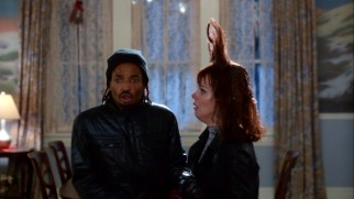 "It just wouldn't be ""Home Alone"" without would-be burglars (Eddie Steeples, Debi Mazar) getting all messed up."