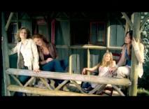 "The Beu Sisters sing together in their ""Anytime You Need a Friend"" music video."