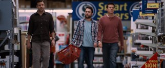 Kurt, Dale, and Nick stock up on the supplies with which they intend to kill their bosses.