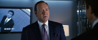 Demanding, demeaning Dave Harken (Kevin Spacey) does not take two minutes' tardiness lightly.