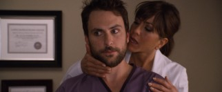 Dental assistant Dale (Charlie Day) has to put up with the sexual advances of his unprofessional boss (Jennifer Aniston) on the job.