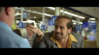 Combed-over cokehead Bobby Pellit (Colin Farrell) questions a pharmacist about the contents of his sneeze in this deleted scene.