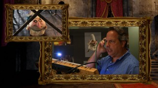 "Jon Lovitz voices Quasimodo, the hotel's hunchbacked chef, in ""Meet the Staff and Guests."""