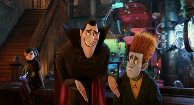 Dracula hides the fact that Johnnystein is really the first human guest in the over 100-year history of Hotel Transylvania.