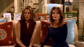 Victoria Chase (Wendie Malick) is not pleased to share her house with a visiting Susan Lucci.