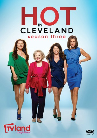 Hot in Cleveland: The Complete Third Season DVD cover art - buy from Amazon.com
