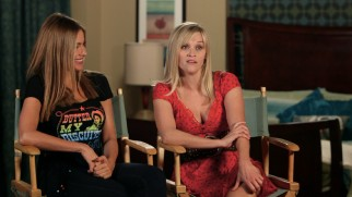 "Sofia Vergara and Reese Witherspoon laugh about their shared hijinks in ""Action Like a Lady."""