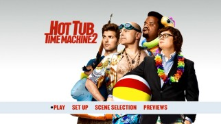 Like most new Paramount DVDs, Hot Tub Time Machine 2's is void of bonus features.