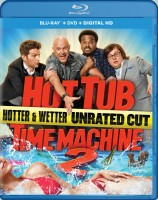 Hot Tub Time Machine 2: Hotter & Wetter Unrated Cut Blu-ray + DVD + Digital HD combo pack cover art - click to buy from Amazon.com