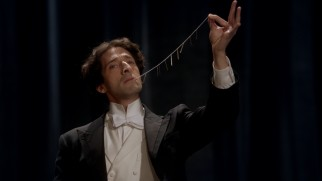 Houdini (Adrien Brody) realizes he's going to need more than pulling nails on a string out of his mouth to impress the Kaiser.