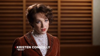 Kristen Connelly is basically a Houdini expert now, having played the magician's wife Bess so convincingly.