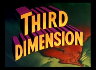 House of Wax's original theatrical trailer promotes the third dimension more than the movie presented in it.