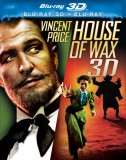 House of Wax: Blu-ray 3D/2D cover art -- click to buy from Amazon.com