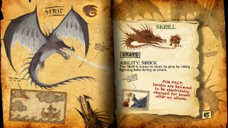 The interactive Ultimate Book of Dragons brings the manual to life with information on Skrill and thirteen other species.