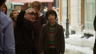 "Martin Scorsese is a regular Dwayne Wayne, directing Asa Butterfield with flip-up 3D glasses in ""Shoot the Moon."""