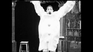 "The real Georges M�li�s clowns around in this vintage short film excerpt from ""The Cinemagician."""