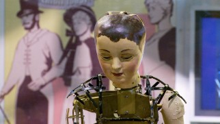 """The Mechanical Man at the Heart of 'Hugo'"" shows us automatons like this one in action."