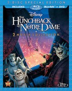 The Hunchback of Notre Dame & The Hunchback of Notre Dame II: 3-Disc Special Edition 2 Movie Collection Blu-ray + DVD cover art -- click to buy from Amazon.com