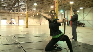 """The Whole World is Watching"" documents the making of ""The Hunger Games"" from Jennifer Lawrence's archery training..."