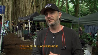 "Director Francis Lawrence speaks from the scenic Hawaiian island on which ""Catching Fire"" was partially filmed."