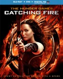 The Hunger Games: Catching Fire Blu-ray + DVD + Digital HD UltraViolet combo pack cover art -- click to buy from Amazon.com