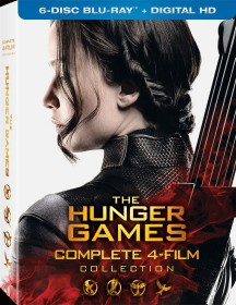 The Hunger Games: Complete 4-Film Collection: 6-Disc Blu-ray + Digital HD box art -- click to buy from Amazon.com
