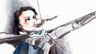 """Cinna's Sketchbook"" provides one last illustrated word on Hunger Games costumes."