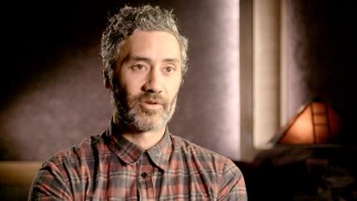 Writer-director Taika Waititi discusses making the film in the behind-the-scenes featurette.